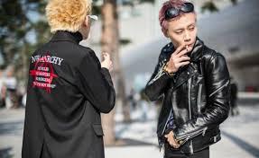 Asian men s fashion