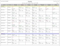 Sample Schedules Sample Schedule Weekly Schedule Sample Cityesporaco 11