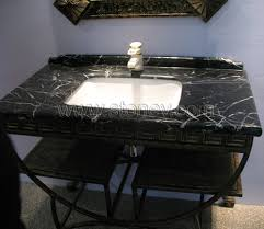 marble vanity tops with sink. Contemporary With Marble M080 Black And White Vanity Tops On With Sink T