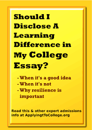writing about adhd dyslexia learning disabilities in college  guest blogger joanna novins should i disclose a learning difference in my college essay