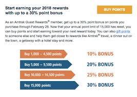 Amtrak Guest Rewards Redemption Chart Should You Buy Amtrak Points With An 30 Bonus Points