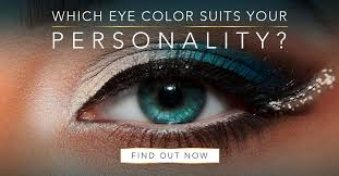 Anime Eye Color Meaning Chart Which Eye Color Suits Your Personality