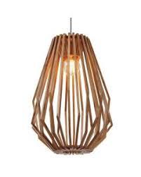 wood lighting. Fiorentino Ragusa Natural Wood Veneer Long Pendant Light Lighting