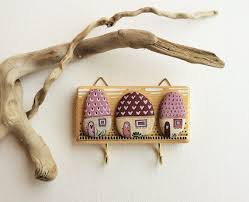 ... Decorative Key Holder For Wall Key Hooks On Pinterest Wall Key Holder Key  Hook Diy And ...