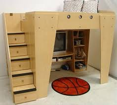 childrens loft bed berg furniture kids full loft with entertainment and game center toddler loft bed with slide diy childrens bunk beds with stairs uk