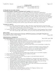 Examples Of Career Summary Stunning Summary Of Qualification Resume Hcsclubtk