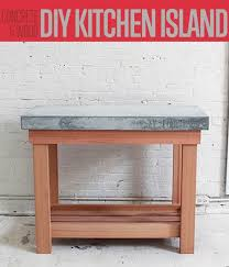build this diy rustic kitchen island kitchen renovations