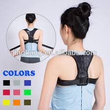 Orthopedic shoulder back brace posture correction vest adjustable to correct Shoulder Back Brace Posture Correction Vest Adjustable
