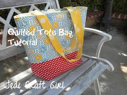 Quilted Tote Bag Tutorial &  Adamdwight.com