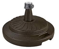 commercial umbrella stand. Patio Living Concepts 00297 Commercial Umbrella Stand Bronze On