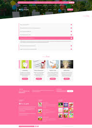 Party Planner My Confetti Kids Party Planner Html Template By Createit Pl