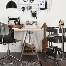 Office ikea Diy Ikea Hacks Gun Metal Study Ideal Home Ikea Hack Personalise Your Home Office With Spray Paint