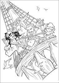 Jack Gevangen Door Andere Piraten Kleurplaat Gratis Kleurplaten