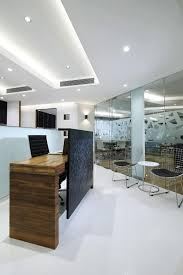 best office interiors. Reception With Siting Area At Nariman Point Design By Best Office Interior Designer In Mumbai -Nitido Interiors