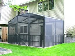 patio patio room kit beautiful for screen enclosure do idea or ideas kits enclosures home