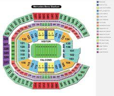 Atlanta Falcons Seating Chart 3d 8 Best Atlanta Falcons Stadium Georgia Dome Images