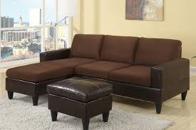 cheap sectional sofas. Chocolate Chaise Sectional Sofa With Ottoman Cheap Sofas