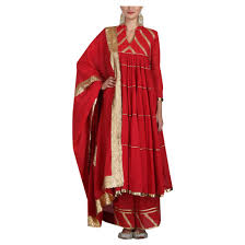 Handmade Punjabi Suit Design Amazon Com Red Short Flared Muslim Anarkali Palazzo Suit