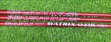wotufly matrix ozik hd4 golf graphite shaft driver length 46inch l a1 a2 a3 flex tip 335 50gms golf clubs shaft