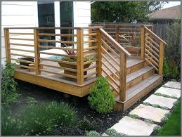 Horizontal Deck Railing Horizontal Deck Railing Ideas Wood