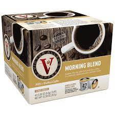 100% colombian coffee made with 100% arabica coffee beans. Victor Allen S Coffee Morning Blend Light Roast Single Serve Coffee