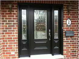 black front door with glass on black front door colors