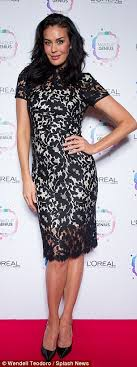 local launch l oréal ambadors megan gale and barbara palvin attended the launch party