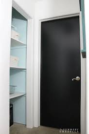 paint for interior doorsHow to Make Your Home Sparkle with Black Interior Doors