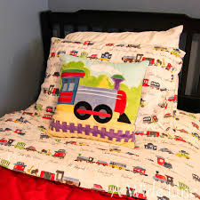 From Nursery to Big Boy Bedroom: Trains, trains and more trains