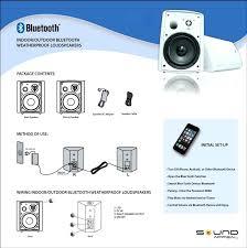best outdoor speakers patio bluetooth waterproof waterproof outdoor speaker tower black by audio patio
