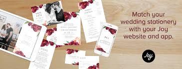 wedding invites with matching websites