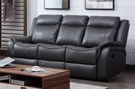 ohio leather 3 seater recliner sofa 3rr