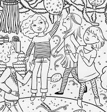 American Girl Coloring Pages At Getdrawingscom Free For Personal