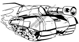 رسومات دبابات بالقلم الرصاص