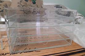 this is the muji acrylic 5 drawer case ready for some makeup action