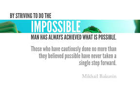 Dream The Impossible Quotes Best of 24 Impossible Quotes IMPOSSIBLE