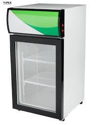 80 liter countertop display fridge single glass door portable mini fridge images