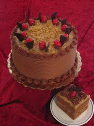 Decorated German Chocolate Cake Filegerman Chocolate Cakejpg Wikimedia Commons