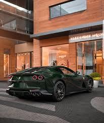 Dope Cars Verde British Racing Ferrari 812 Superfast Facebook
