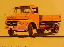 Old Brochures Mercedes Benz Old Delivery Vans And Trucks Brochures From 1957