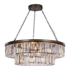 home design idea incredible crystal and antique bronze 10 light chandelier lighting company pertaining to
