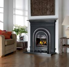 Pembroke Black Cast Iron FireplaceCast Fireplaces