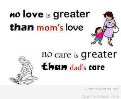 Father Love Quotes Classy Family Father And Mother I Love You