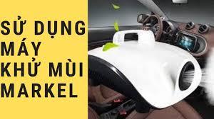 Sử dụng Máy Khử Mùi & Diệt Khuẩn ô tô Markel như thế nào?