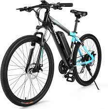 Amazon.com : ANCHEER 350/500W Electric Bike 27.5'' Adults Electric Commuter Bike/Electric Mountain Bike, 36/48V Ebike with Removable 10/10.4Ah Battery, Professional 21/24 Speed Gears : Sports & Outdoors