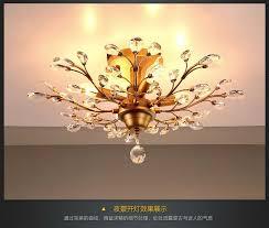 vintage american black gold crystal chandelier restaurant retro chandeliers for dinning room living room e14