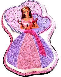 Enchanted Barbie Cake Square One Homemade Treats