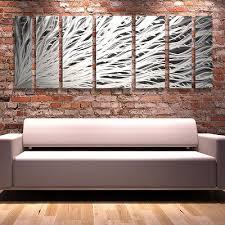 abstract metal wall art. Modern Contemporary Abstract Metal Wall Art Painting Panels Decor - Brian Jones T