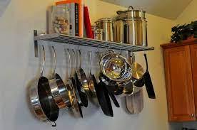 pot rack hanging pot rack kitchen pot