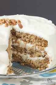 Old Fashioned Banana Layer Cake with Cream Cheese Frosting  Call
